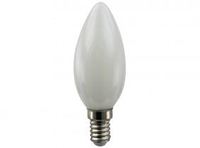 LED Fadenlampe C35 Candle E14 matt 4W 300 Lumen
