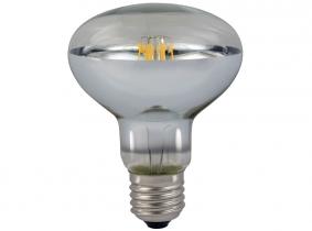LED Reflektorlampe R80 E27 klar 8W 680 Lumen