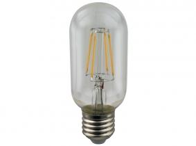 LED Fadenlampe T45 Tubular E27 klar 4W 350 Lumen