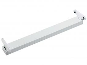 Fassung für zwei T8 Röhren 60cm