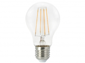 LED Fadenlampe Bulb E27 klar 7W 806lm 2.700K