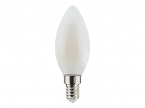 LED Fadenlampe Candle E14 matt 2,5W 250lm 4.000K