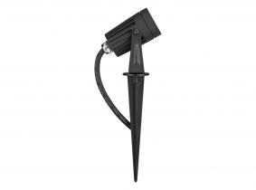 LED Gartenstrahler 3W 230V mit Erdspieß und Farbfilter