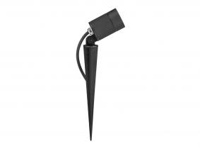 LED Gartenstrahler 7W 230V mit Erdspieß und Farbfilter