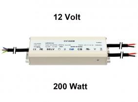 Spannungswandler 230V auf 12V 200 Watt