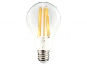 LED Fadenlampe A70 Bulb E27 klar 11W 1.521lm 2.700K