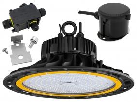 LED UFO dimmbar 200W mit Bewegungsmelder