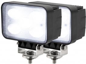 2x LED Arbeitsscheinwerfer 50W 120° 4.000 Lumen