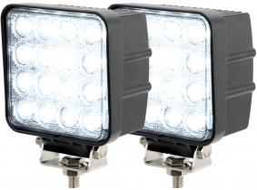 2x LED Arbeitsscheinwerfer 48 Watt 2.880 Lumen 30 Grad 2x AdLuminis LED Arbeitsscheinwerfer T1048 48W 30° 2.880 Lumen