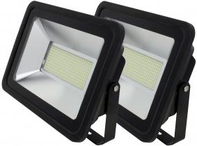 2x SMD LED Fluter flach 150 Watt 10.700 Lumen