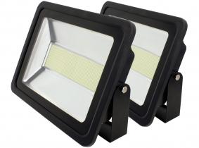 2x SMD LED Fluter flach 200 Watt 14.300 Lumen