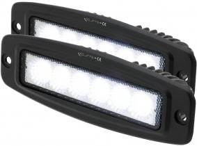 2x LED Light Bar für Einbau 18 Watt 1.440 Lumen