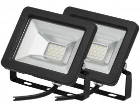 2x SMD LED Fluter kompakt 10 Watt 850 Lumen