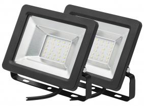 2x SMD LED Fluter kompakt 20 Watt 1.700 Lumen