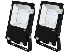 2x SMD LED Fluter 20 Watt 2.600 Lumen PCCooler