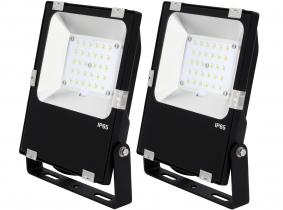 2x SMD LED Fluter 30 Watt 3.900 Lumen PCCooler