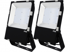 2x SMD LED Fluter 100 Watt 13.000 Lumen PCCooler