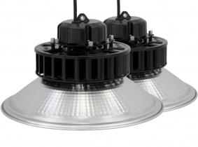 2x LED Hallenstrahler Al Reflektor 60W 7.800 Lumen