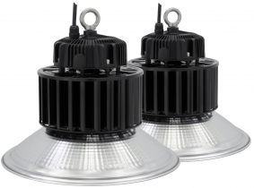 2x LED Hallenstrahler Al Reflektor 150W 19.500 Lumen