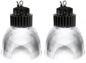 2x LED Hallenstrahler PC Reflektor 150W 19.500 Lumen