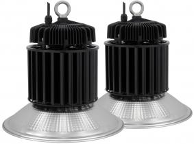 2x LED Hallenstrahler Al Reflektor 200W 26.000 Lumen