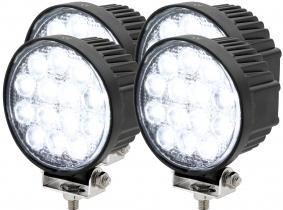 4x LED Arbeitsscheinwerfer 42 Watt 1.950 Lumen