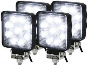 4x LED Rückfahrscheinwerfer ECE R23 15W 1.250 Lumen