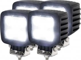 4x LED Arbeitsscheinwerfer T1130 30W 2.700 Lumen