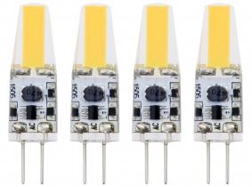 4x G4 LED Stiftsockellampe 12V 1,6W 190 Lumen