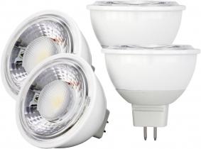 4x LED Reflektorlampe MR16 dimmbar 6W 500 Lumen