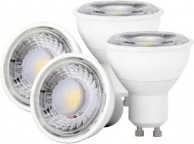 4x LED Reflektorlampe GU10 6W 550 Lumen