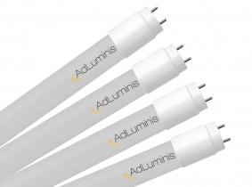 4x LED T8 Röhre 120cm kaltweiß 18W 1.900 Lumen