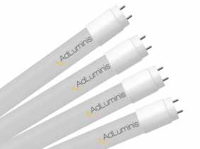 4x LED T8 Röhre 120cm kaltweiß 18W 2.400 Lumen