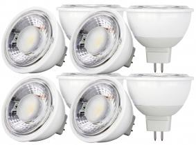 8x LED Reflektorlampe MR16 dimmbar 7W 630 Lumen